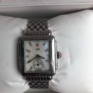 Authentic Michele Deco Watch!